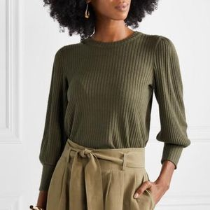Madewell ribbed knit sweater